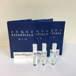 Salvatore Ferragamo Acqua Essenziale Blu For Men (Vial)