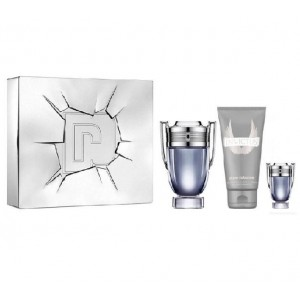 Paco Rabanne Invictus for Men Special Travel Edition (Gift Set )