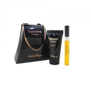 Salvatore Ferragamo Signorina Misteriosa for Women Isi 2 (travel set)