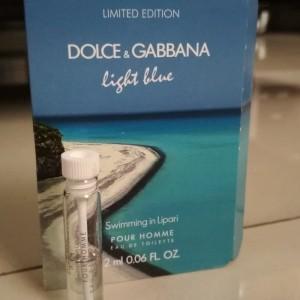 D&G Light Blue Swimming In Lipari For Men (Vial)