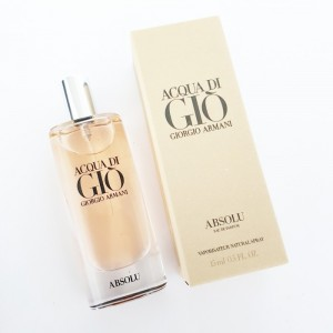 Giorgio Armani Acqua Di Gio Absolu 15ml Men Travel Size Bakul Parfum