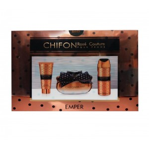 Emper Chifon Rose Couture  for Women (Gift Set)