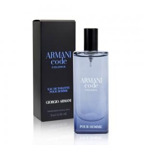 Giorgio Armani Code Colonia 15ml For Men (Travel Size)