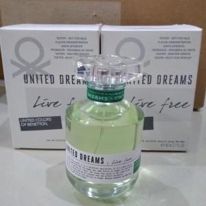 Benetton United Dreams Live Free Women (Tester)