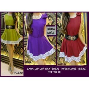 ZARA LIPLOP + belt