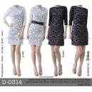 D-0314 brokat dress
