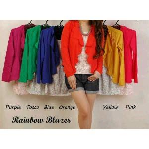 Rainbow blazer+inner